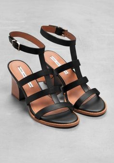 T-strap Sandalette