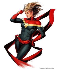 Captain Marvel (Carol Danvers) becomes one of the universe's most powerful heroes while Earth is in a galactic war with aliens. Ms Marvel, Black Widow Marvel, Marvel Comics Art, Marvel Women, Marvel Girls, Comics Girls, Marvel Heroes, Marvel Logo, Batgirl