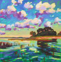 ....artwork like this one day!!!  Back Island Betty Anglin Smith