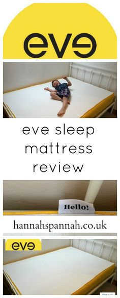 Eve Sleep Mattress Review http://hannahspannah.co.uk/reviews/eve-sleep-mattress-review-100-sleep-review/ I say we as my sister has slept on it a few times (as I say, musical beds) and has wondered if she gets a better sleep on it than at home as she feels as though she does. Last time, her Fitbit confirmed that she'd slept better on the Eve than she had at home for quite some time. She's now doing her own research and is seriously considering purchasing one.