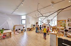 三民幼儿园,台湾 / Fieldevo design studio + LinBoYang Architects - 谷德设计网 Kindergarten, Indoor, San, Education, Studio, Architecture, Projects, Design, Interior