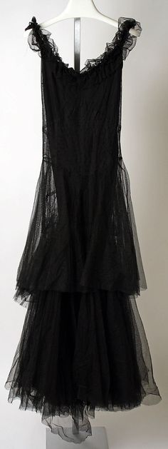 1930s Chanel, Silk evening dress - Design by Gabrielle Coco Chanel - The Metropolitan Museum of Art