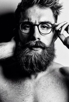 Beards & glasses.