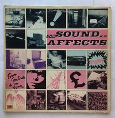 FREE SHIPPING RECORDS: THE JAM (VINYL 1980 POLYDOR) SOUND AFFECTS LP PD-1-6315