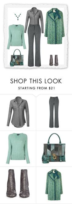 """Untitled #1374"" by milliemarie ❤ liked on Polyvore featuring LE3NO, Polo Ralph Lauren, 10 Crosby Derek Lam, STELLA McCARTNEY and Marco de Vincenzo"