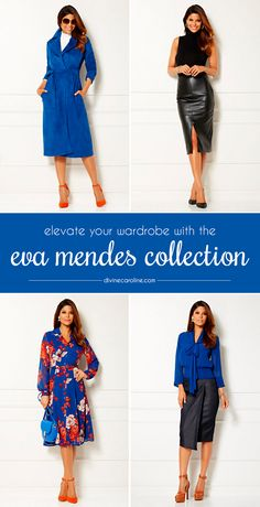 Developing a mature sense of style happens gradually, and these pieces from the Eva Mendes Collection will get you started off on the right foot. #Fashion #Style