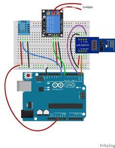 Nuovo tutorial! Termostato wifi con #arduino e miuPanel