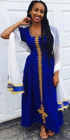 latest african fashion look 226 African Fashion Designers, African Men Fashion, African Wear, African Attire, African Women, African Dress, Africa Fashion, Ethiopian Wedding Dress, Ethiopian Dress