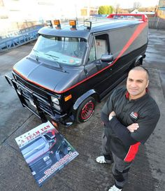 A-Team Fan Spends $50,000 to Convert His Van into Iconic Transport