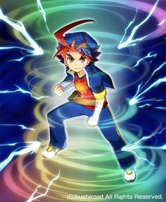 Gao Mikado - Future Card Buddyfight