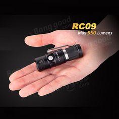 Fenix RC09 XM-L2 U2 550LM Rechargeable EDC LED Flashlight 16340 Sale - Banggood.com