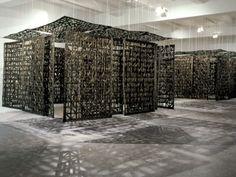 Cristina Iglesias – Il senso dello spazio, Fondazione Arnaldo Pomodoro Milano 2009