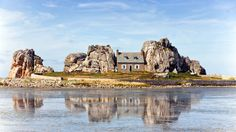 Pink Granite Coast, Le Gouffre, Brittany, France