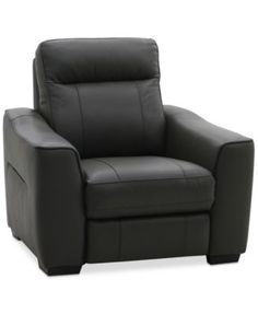 Destin Leather Power Recliner | macys.com  sc 1 st  Pinterest & Marzia Leather Loveseat with 2 Power Recliners Created for Macyu0027s ... islam-shia.org