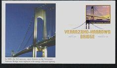 U.S. #4872 FDC – 2014 Verrazano Bridge First Day Cover.