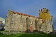 Iglesia de Santa María de Atalaya en #Laxe #CostadaMorte #Galicia