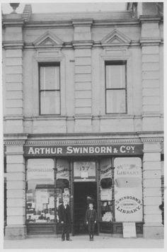 PH Arthur Swinborn's bookshop at Prahran Market, Melbourne Victoria, Victoria Australia, Melbourne Suburbs, Broken Promises, Layout Inspiration, Back In The Day, Historical Photos, Windsor, Gates
