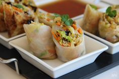 Fresh Rolls, Tacos, Food And Drink, Cooking, Ethnic Recipes, Diet, Asia, Kitchen, Brewing