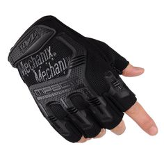 Non-slip Tactical Gloves Men Half Finger Gym WeightLifting Gloves Fitness Gloves Outdoor Sports Military  Men's Gloves 4 color #CLICK! #clothing, #shoes, #jewelry, #women, #men, #hats, #watches