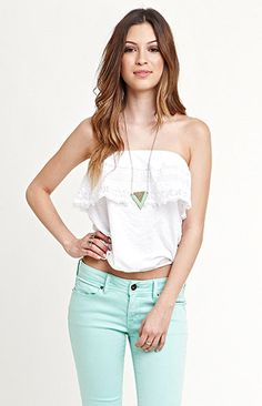 ONeill Rose Tube Top at PacSun.com