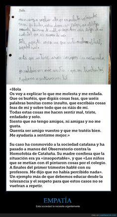 Un niño catalán escribe esto a quienes le insultan por pintarse de princesa - Esta sociedad la necesita urgentemente   Gracias a http://www.cuantarazon.com/   Si quieres leer la noticia completa visita: http://www.estoy-aburrido.com/un-nino-catalan-escribe-esto-a-quienes-le-insultan-por-pintarse-de-princesa-esta-sociedad-la-necesita-urgentemente/