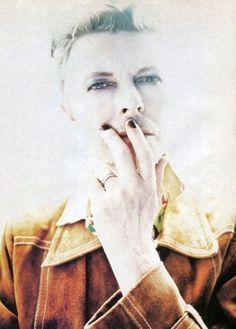 "vezzipuss.tumblr.com — David Bowie, Circa 95, ""Outside Era"""