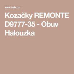 Kozačky REMONTE D9777-35 - Obuv Halouzka 02e7a36a80