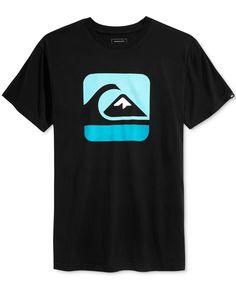 Quiksilver Men's Outta Bounds Graphic-Print Logo T-Shirt - Quiksilver - Men…