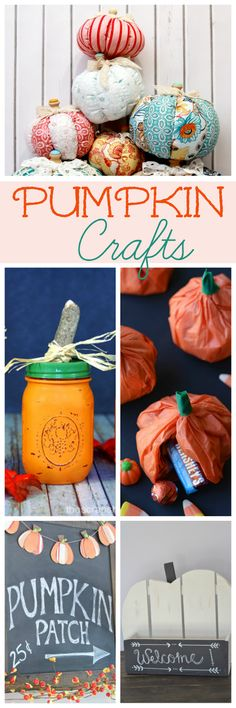 The Life of Jennifer Dawn: 5 Pumpkin Crafts for Fall and A Little Bird Told Me Link Party #155