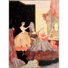 The Fairy Tales of Charles Perrault 1922 Cinderella Canvas Art - Harry Clarke (24 x 36)