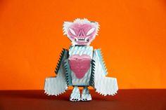 Fuzz Himalayan Terror Bat - PaperMade™