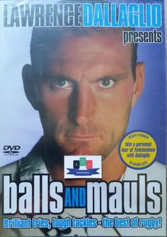 Please check this item out on my eBay store! Balls And Mauls (Lawrence Dallaglio) DVD 2004 New And Sealed