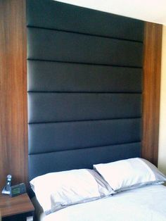 Leather rectangular tiles - masculine & sophisticated
