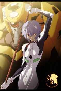 Rei Ayanami - Project: Evangelion by aConst.deviantart.com on @deviantART
