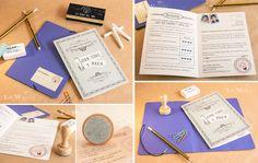 Lola Wonderful_Blog: Invitaciones: Boletín de notas