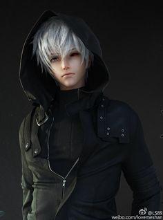 LI Shan : 3 d model ...