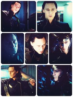 Loki....he really just needs a hug!  The eyes, it's definitely those gorgeous blue eyes that make Loki a loveable supervillain.