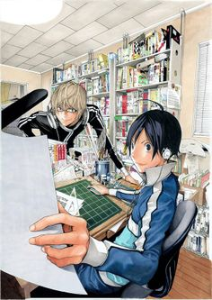 Months # 2 new obsesion: Bakuman. Love them since the first page