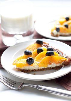Peach Blueberry Bava