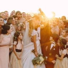 Sharing a new gram // Photos of Taylor attending Britany Maack's wedding as her…