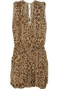 BY MALENE BIRGER  Naima leopard-print silk-georgette dress  $495