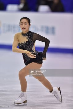 Rin Nitaya of Japan competes in the ladies short program during the day two of the 2015 Japan Figure Skating Championships at the Makomanai Ice Arena on December 26, 2015 in Sapporo, Japan.