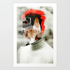 Where is Lassie? Art Print by Marko Köppe - $19.99