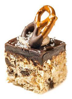The Chocolate Pretzel Rice Krispie Treat from Treat House