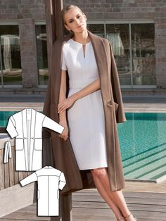 Trench Coat 08/2016 #116 http://www.burdastyle.com/pattern_store/patterns/trench-coat-082016?utm_source=burdastyle.com&utm_medium=referral&utm_campaign=bs-tta-bl-160801-CleanLinesCollection116