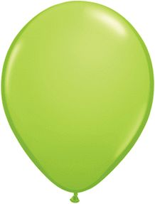 11 Inch Lime Green Latex Balloons (100ct)
