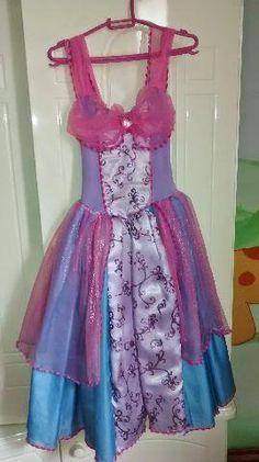 Fantasia Barbie Castelo de Diamante
