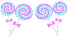 Baby Doodles Marshallow World fairy kei lollipop candy