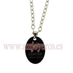 Foto Colgante de Lestor con cadena de acero. Zodiaco Ip. Cancer de
