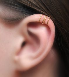 For Him/ For Her/ Left/ Right No Piercing Cartilage door LotEarCuffs